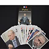 Collection poker 54pcs President of the Russian Vladimir Putin poker set celebrity playing cards deck novelty present pokers