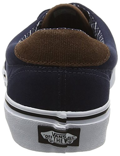 Vans Era 59, Zapatillas Unisex Adulto Negro (Cord & Plaid Dress Blues/True White)