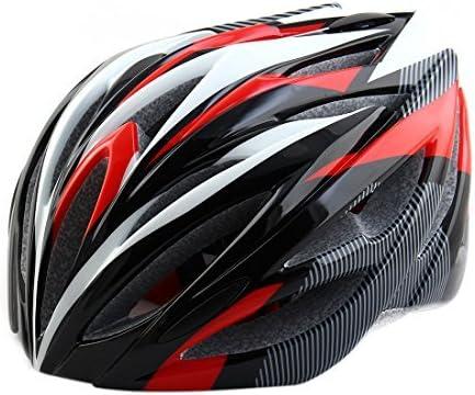 eDealMax Patente autorizado Unisex adulta PC Shell 21 hoyos cabezal de seguridad Protector Ajustable Ciclismo Casco de la bici