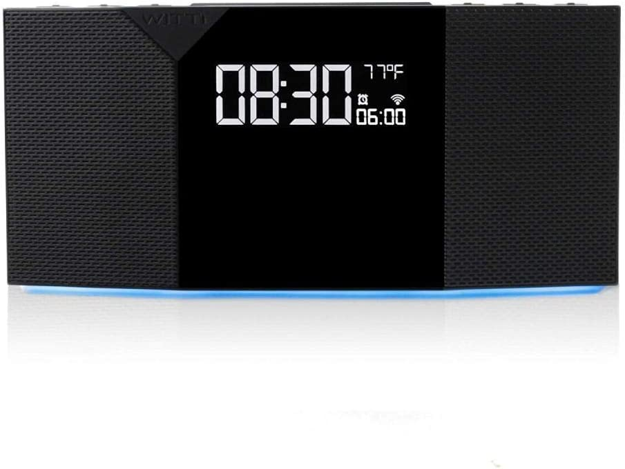 JIAHANLI Réveil numérique Générateur de Bruit Blanc d'alarme
