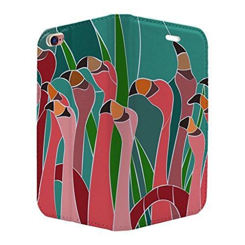 gebeizt Glas Muster Voll Flip Case Cover Für Apple iPhone 6–6S–S3521