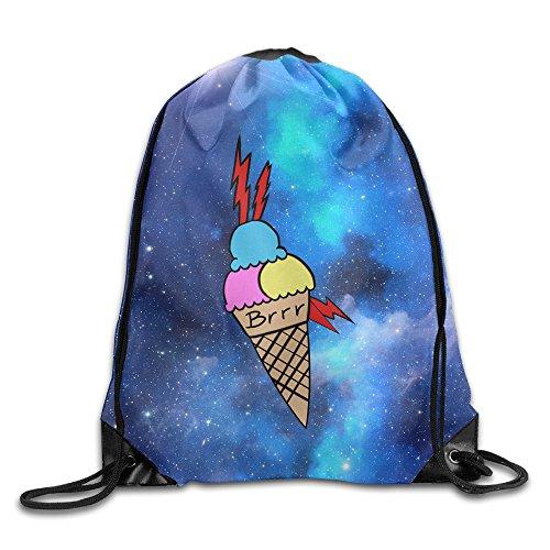 Gucci Drawstring - ZOENA Gucci Mane Durable Drawstring Backpack Outdoor Valise Bag