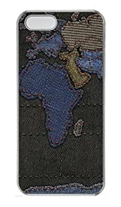 iPhone 5S Cases & Covers - Geography cartography Custom PC Hard Case Cover for iPhone 5S and iPhone 5 - Transparent