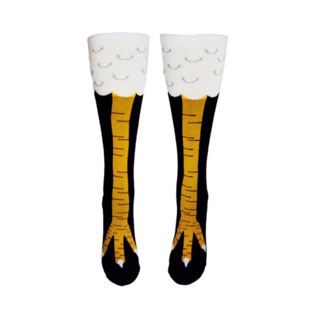 Amazon.com: Qualilty Women 3D Toe Socks Cartoon Chicken Feet Printed Slim Accessory: Sports & Outdoors
