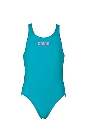 b90ec90b40f5 arena G Jr Bañador Deportivo Niña Solid Swim Tech, Niñas: Amazon.es ...