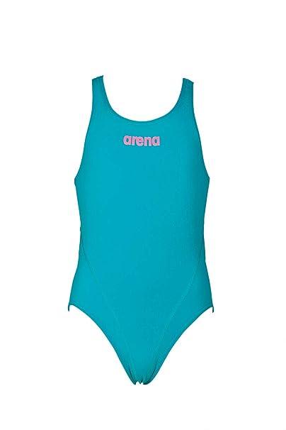 ade49ebc56e2 arena G Solid Swim Jr, Costume Tech da Allenamento Bambina: Amazon.it:  Abbigliamento