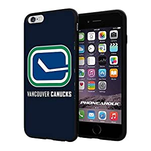 diy zhengHockey NHL Vancouver Canucks logo, Cool Ipod Touch 5 5th Smartphone Case Cover Collector iphone TPU Rubber Case Black
