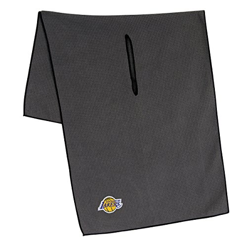 Team Effort NBA Los Angeles Lakers LA Lakers 19'' x 41'' Grey Microfiber Towel19 x 41'' Grey Microfiber Towel, NA by Team Effort