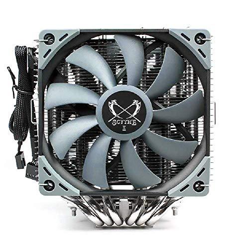 Scythe Fuma 2 CPU Air Cooler, Intel LGA1151, AMD AM4/Ryzen, 120mm Dual Towers, Black Top Cover