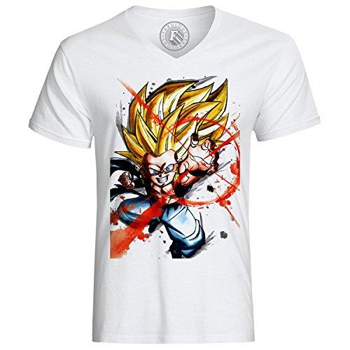 T-shirt gotrunks Fusion sangohan Stamm Dragon Ball Z manga dbz