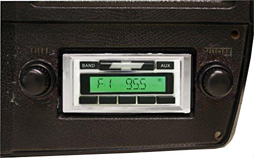 1973-1988 Chevrolet Pickup Truck Custom Autosound USA-230 AM/FM Stereo Radio 200 watts ()