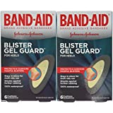 Band-Aid Brand Adhesive Bandages, Advanced Healing Blister Cushions, Multi-Day Protection, 6-Count Boxes (Pack of 2)
