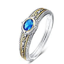 UNY Hot Sale Fashion Brand David jewelry Double Wire Vintage Bangle Elegant Beautiful Valentine day Gift