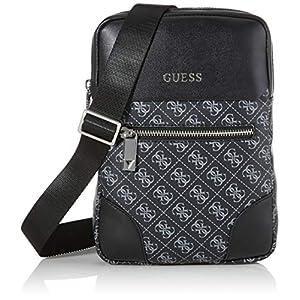 Guess Men's Manhattan Logo Shoulder Bag