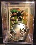 Oakland Raiders NFL Helmet Shadowbox w/ Darren