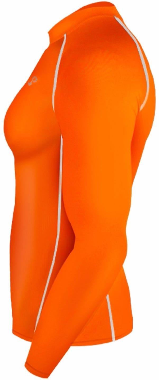 64c51ca24e2 New 137 Skin Tight Compression Base Layer Orange Running Shirt Mens S -  2xl