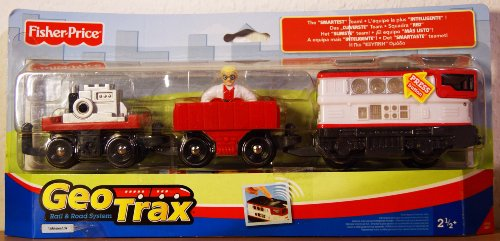 - Geotrax Rail & Road Lights & Sounds Vehicles Goggles & Bunsen The Smartest Team