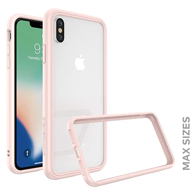 buy popular 1ab96 e822f RhinoShield Ultra Protective Bumper Case for [ iPhone Xs Max ] CrashGuard  NX, Military Grade Drop Protection for Full Impact, Slim, Scratch  Resistant, ...