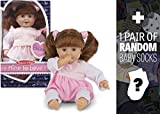 Melissa & Doug Brianna: Mine to Love Doll Series + 1 Free Pair
