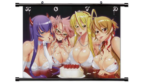 Anime Wall Scrolls High School of the Dead Poster  Inches