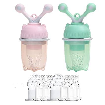 Yooap 2PCS Alimentador de alimentos para bebés, Alimentador ...