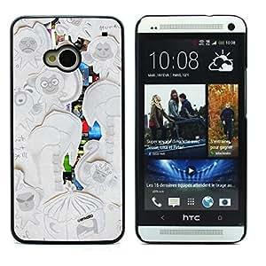 Graphic4You Envato Art Design Hard Case Cover for HTC One (M7)