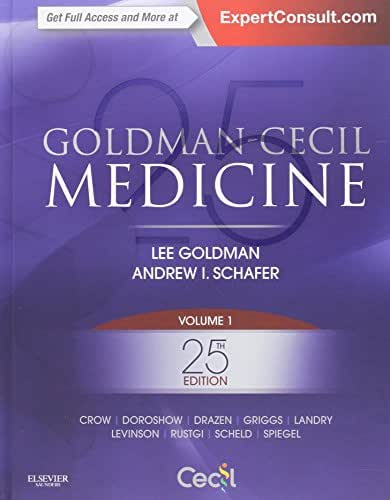 Goldman-Cecil Medicine,  2-Volume Set (Cecil Textbook of Medicine)
