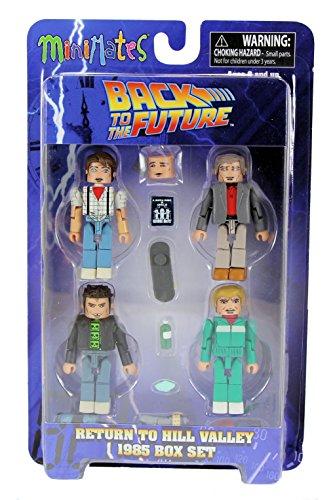 Back to the Future 30th Anniversary Minimates Return to Hill Valley 1985 Mini Figure Box Set