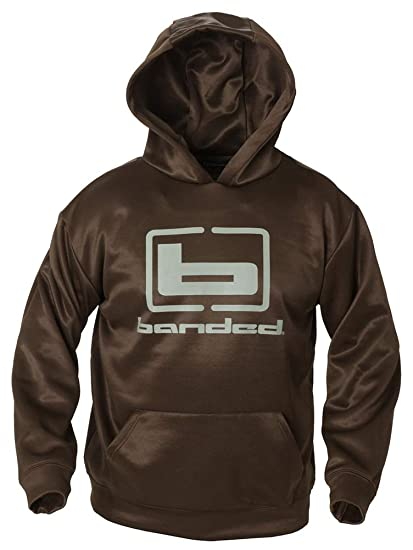 Amazon.com  Banded Logo Hoodie - Max5 with Grey Logo  Sports   Outdoors 08a5b50a6a8e