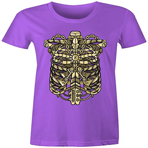 Merch Kingdom - Camiseta sin mangas - Manga Larga - para mujer morado