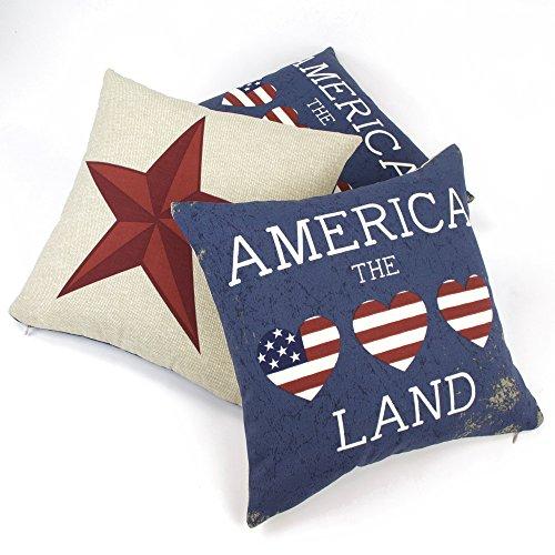 Chloe & Olive I Love America Reversible Outdoor Collectio...