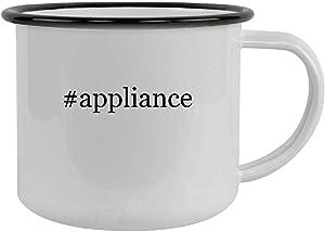 #appliance - 12oz Hashtag Camping Mug Stainless Steel, Black