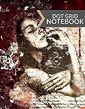 Dot Grid Notebook: Modern Gothic Woman