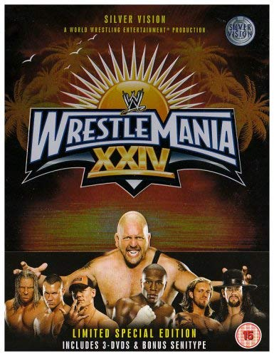 WWE - Wrestlemania 24 (Tin Version) [2008] (Wwe Tin Dvd)