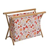 Hobby Gift HGKSL/245 Butterflies Print Large Knit/Sew Stand | 23x48.5x35.5cm