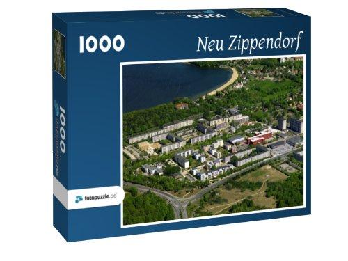 Neu Zippendorf - Puzzle 1000 Teile mit Bild von oben