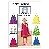 BUTTERICK PATTERNS B3772 Toddler's & Children's