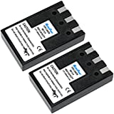 MaximalPower DB CAN NB-1LH x2, 2 Pack Battery (Black)