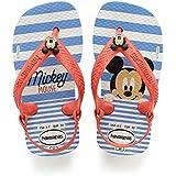 Havaianas Sandálias New Baby Disney Classic, Branco/Morango, 17 - 18 Bra