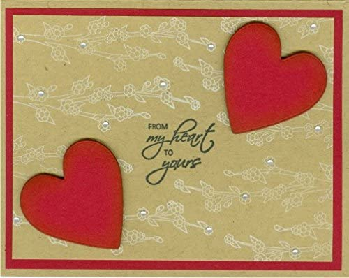My Heart to Yours Rubber Stamp by DRS Designs Rubber Stamps