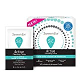 Summer's Eve Active Cooling Feminine Cleansing Cloths, Mint/Eucalyptus, 14 Count (Pack of 1)