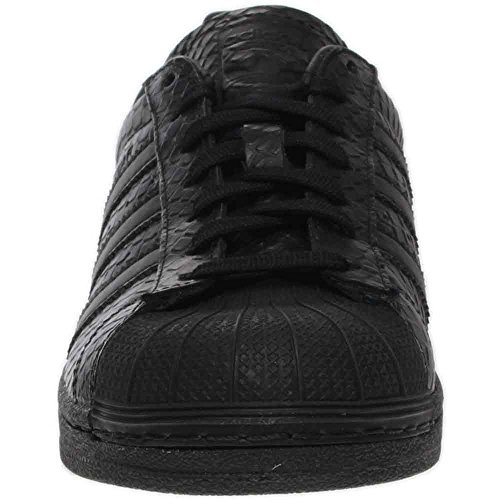 Adidas Superstar S76147 Scarpe Da Ginnastica In Pelle Nera 6 Us