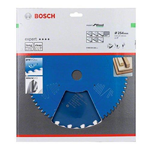 Bosch 2608644340 Kreiss/ägeblatt EX WO T 254x30mm mit 22 Z/ähnen