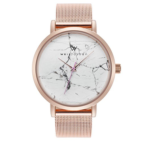 marble faced watch