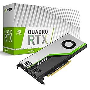 PNY VCQRTX4000-PB - Tarjeta gráfica (Quadro RTX 4000, 8 GB, GDDR6, 256 bit, 7680 x 4320 Pixeles, PCI Express x16 3.0)
