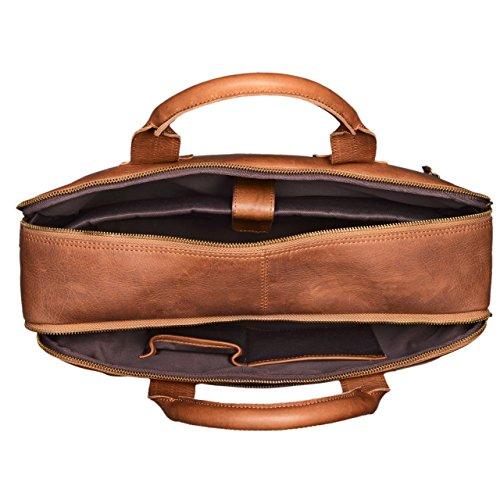 24040a76a06ea ... STILORD Hector Große Business Ledertasche für Herren Vintage  Umhängetasche mit 15.6 Zoll Laptop-Fach Leder ...