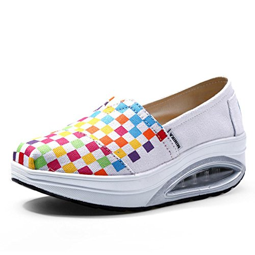 Shaking Chaussures Toile Chaussures Shake Chaussur de amp; plats Chaussures Chaussures Shake Mocassins Ons Slip sport Mocassins Chaussures Printemps Chaussures Femmes Sneakers de Fitness Automne D Conduite 8wS5qxa