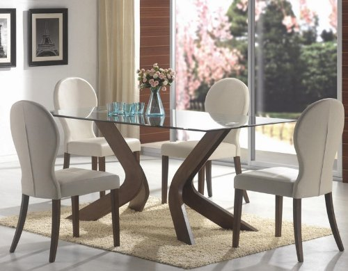 5pc-dining-set-glass-table-top-medium-walnut-finish