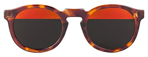 MR.BOHO, Vintage tortoise jordaan with bicolor red lenses – Gafas De Sol unisex multicolor (carey), talla única