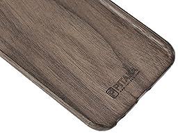 iPhone 6 Plus/6s Plus Case, PITAKA [Aramidcore Wood Series] Premium Lightweight Natural Wood Case for iPhone 6 Plus/6s Plus (5.5 Inch) - Walnut Wood [with Premium Tempered Glass Screen Protector]